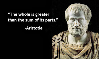 The whole is greater than the sum of its parts