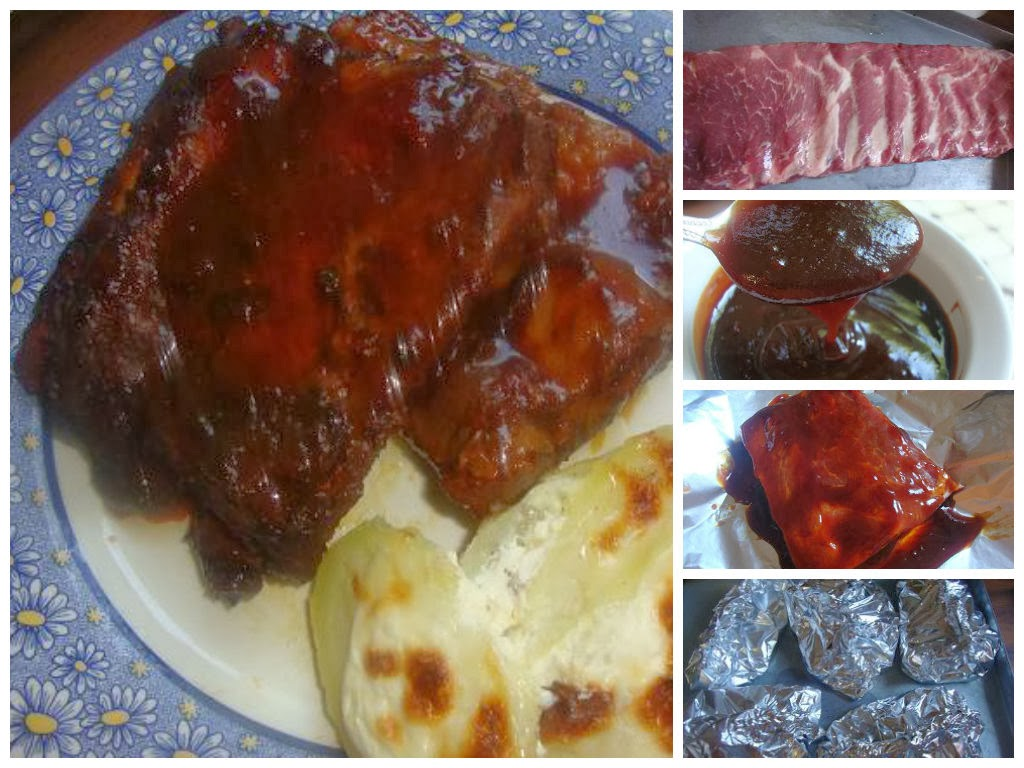 Costillas a la Barbecue