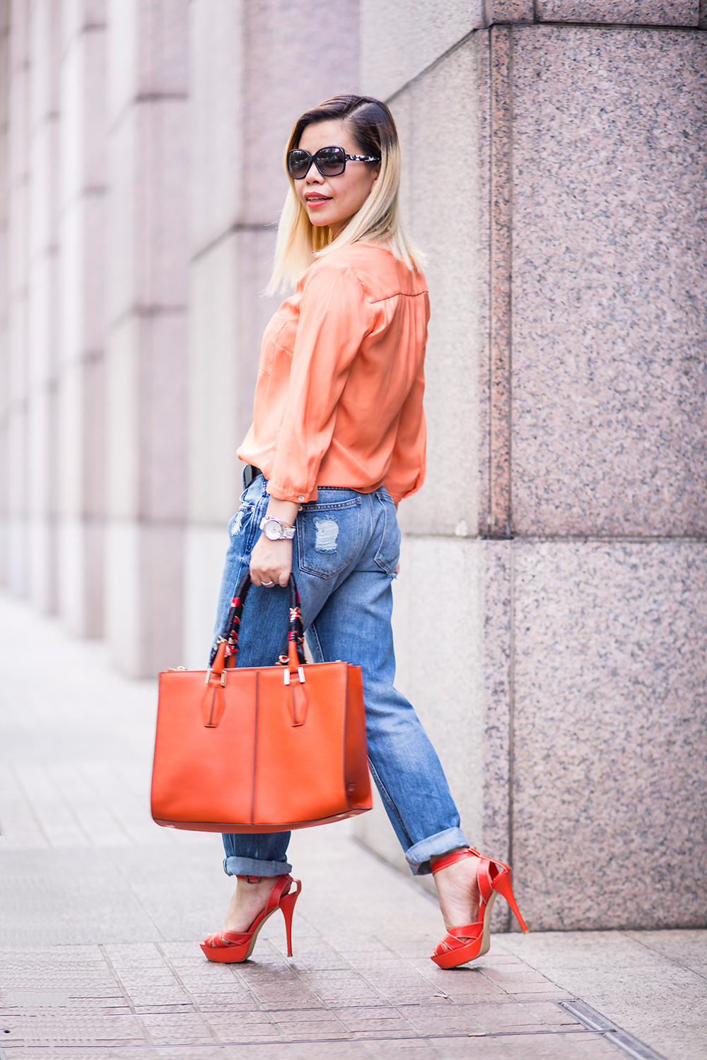 CrystalPhuong- Singapore Fashion Blog- Casual weekend in boyfriend jeans