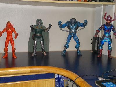 Coleção Action Figures