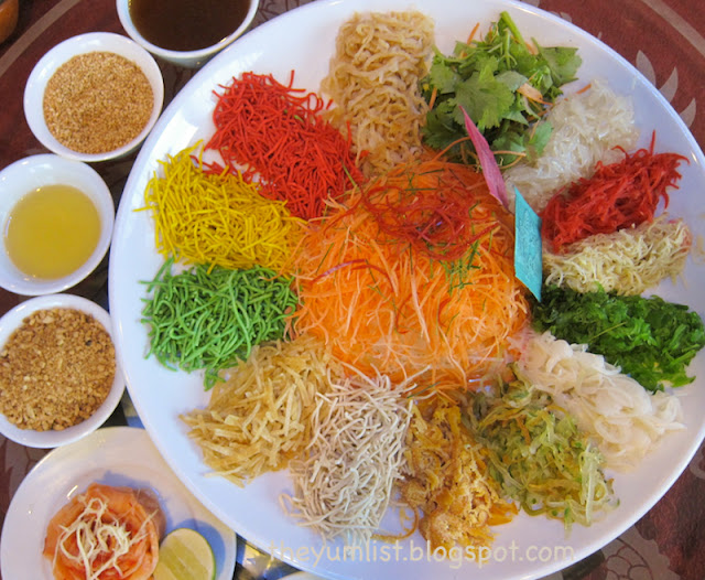 Phoenix Restaurant, Holiday Inn, Kuala Lumpur, Shah Alam, Chinese New Year set menu, Yee Sang, authentic Cantonese cuisine, healthy food,