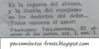 frases de Francisco Villaespesa