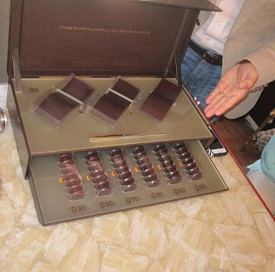 A+CAIXA+ABERTA AQUIM BUFFET presenteia o BOUTIQUE B. ONLINE com uma degustação de chocolate