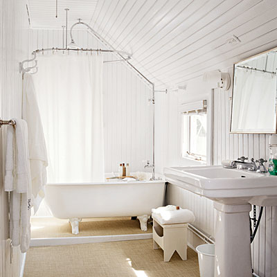 Cottage bathroom inspirations french country cottage for Beach cottage bathroom ideas