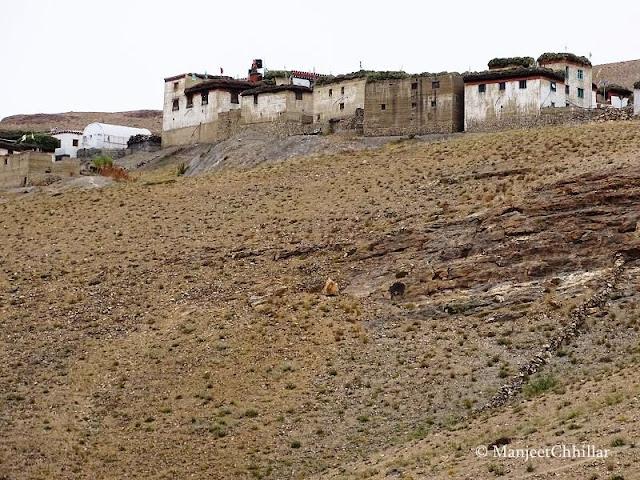 Kibber Monastery, Kibber Village, Himachal Pradesh