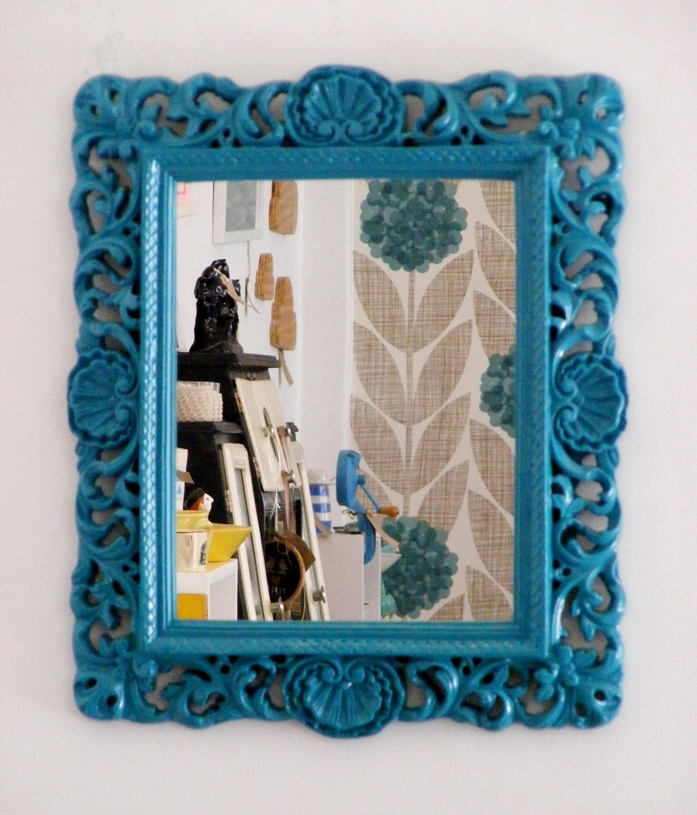 Vamp furniture this weeks new furniture stock at vamp for Teal framed mirror