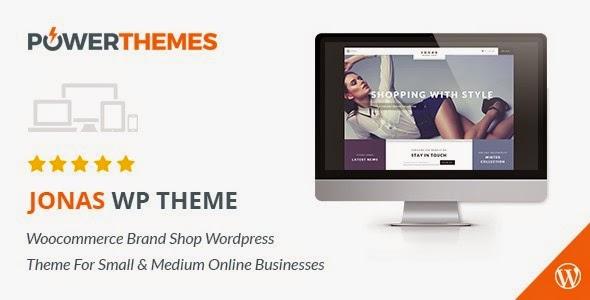 Jonas - Woocommerce Brand Shop WP Theme