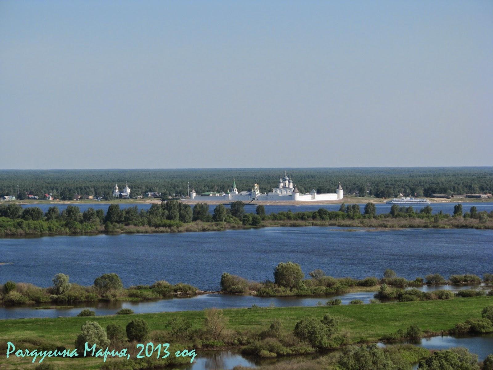 Лысково Нижегородская область монастырь