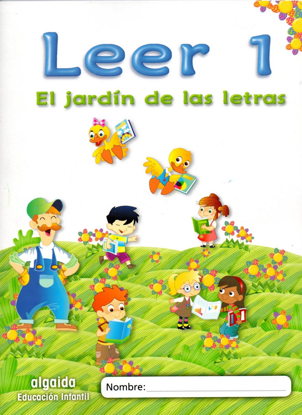 Mis cosillas de educaci n infantil el jard n de las for El jardin de las letras