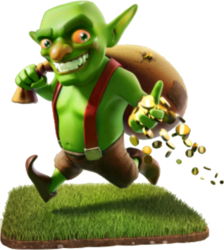 Goblin Clash Of Clans