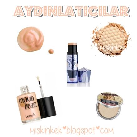Aydınlatıcı makyaj ürünleri