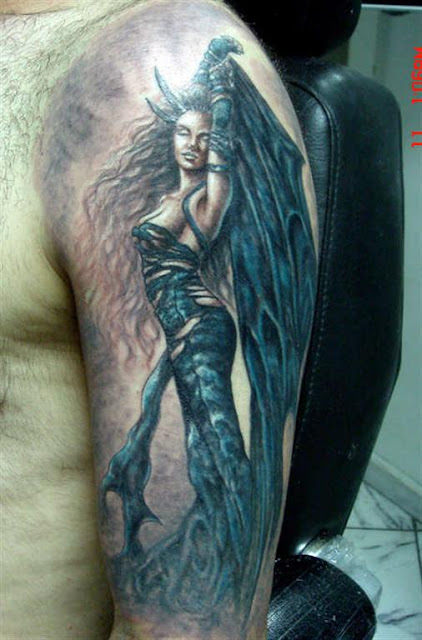 dark angel tattoo 2012