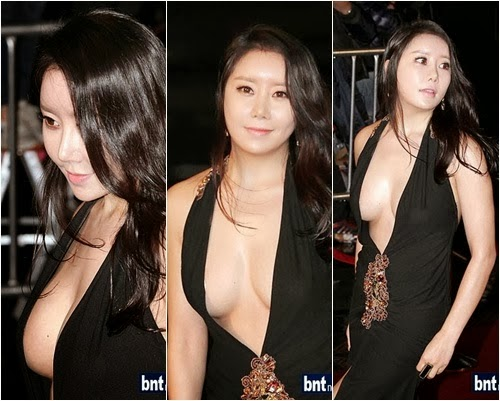 Actress Ha Na Kyung at the 33rd Blue Dragon Film Awards on 30 Nov 2012