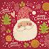 Red Christmas iPad Wallpaper