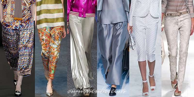 Spring Summer 2013 Women's Fashion Pants Trends | Love Style Love ...