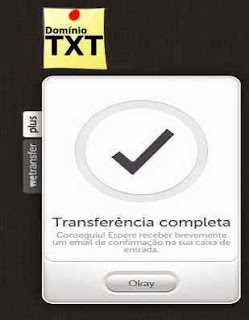 DominioTXT - Wetransfer Concluido