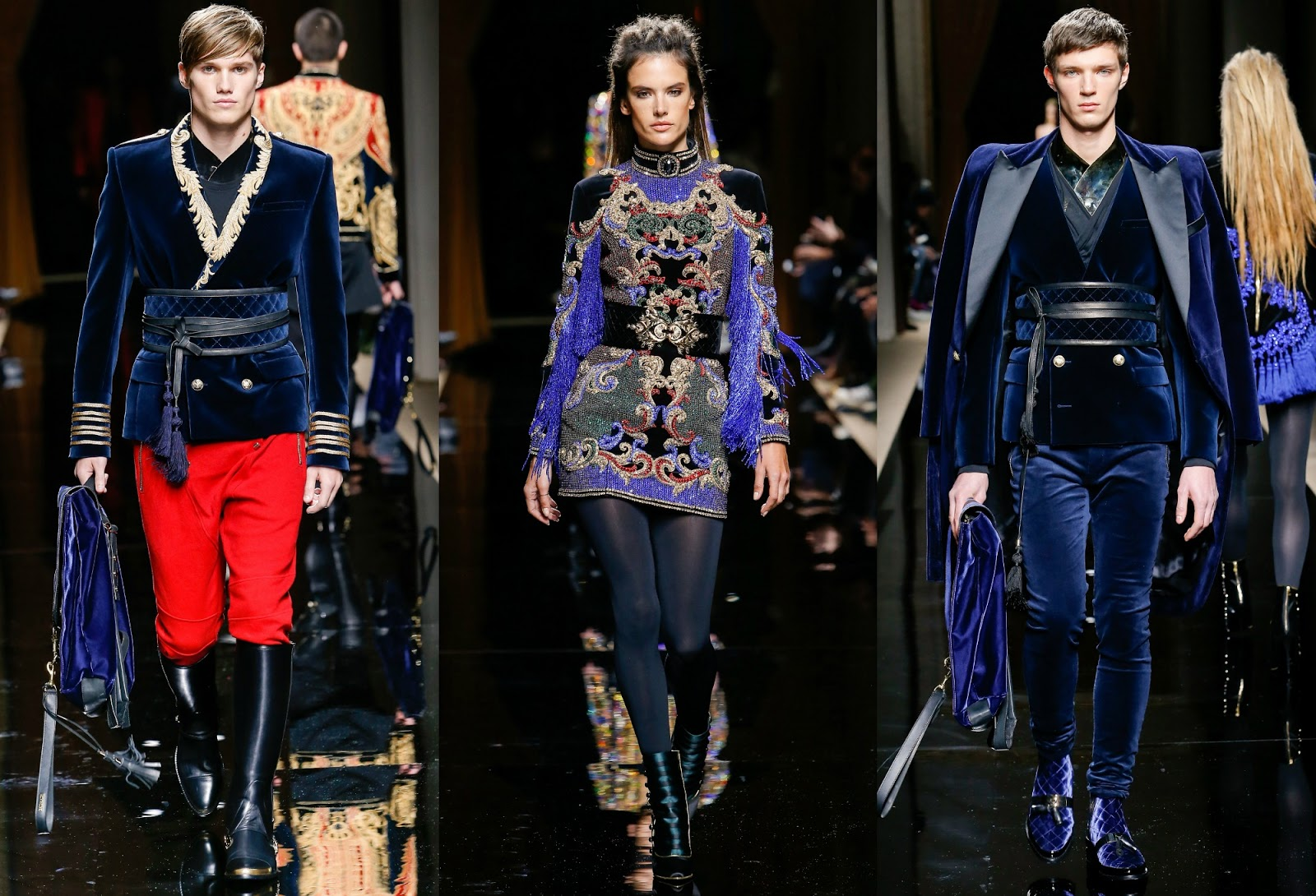Balmain Fall 2016 Mens