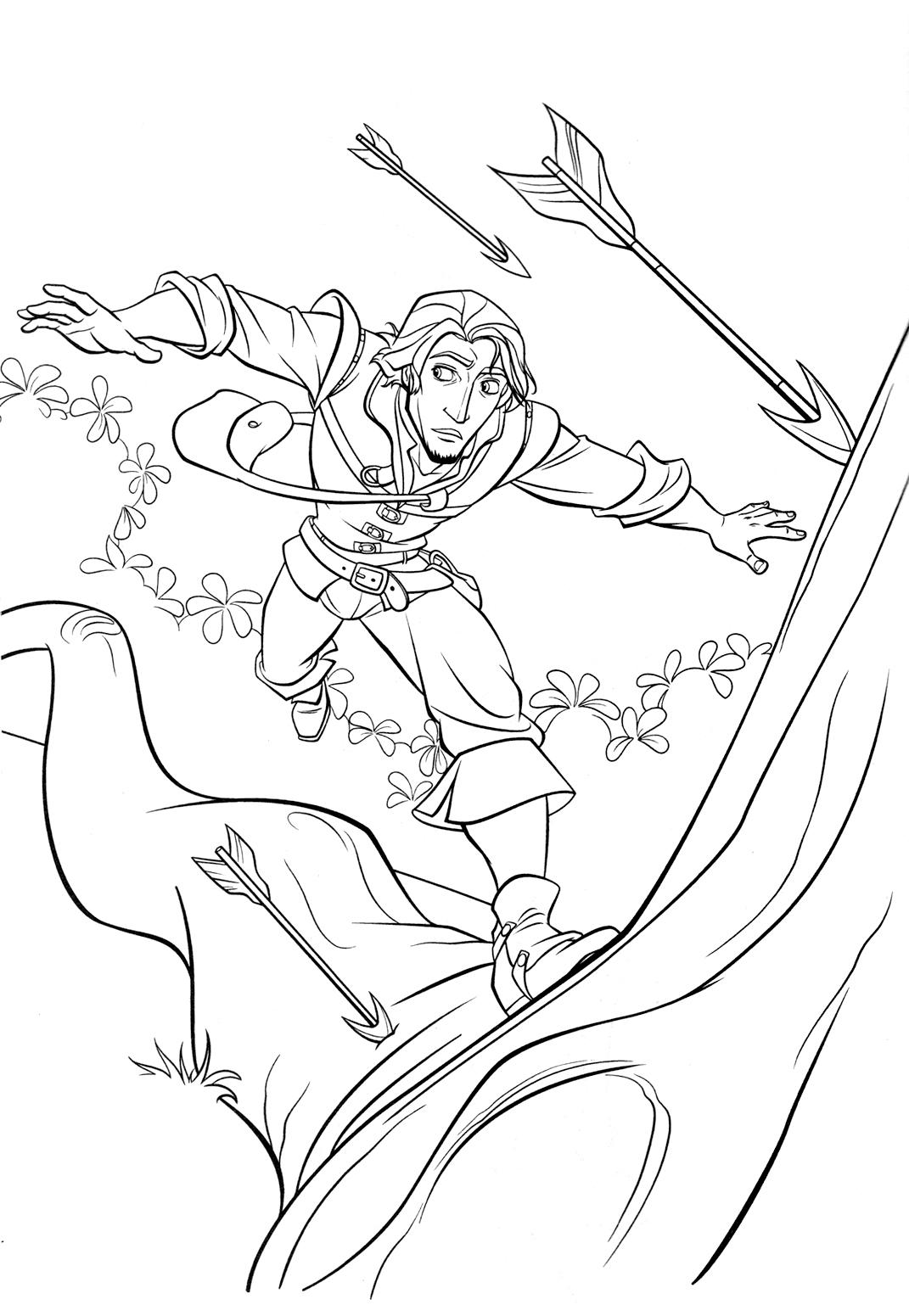 imagens para colorir da rapunzel - Back to Rapunzel e Enrolados para imprimir e colorir gratis