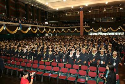 Inside Dewan Tunku Canselor.