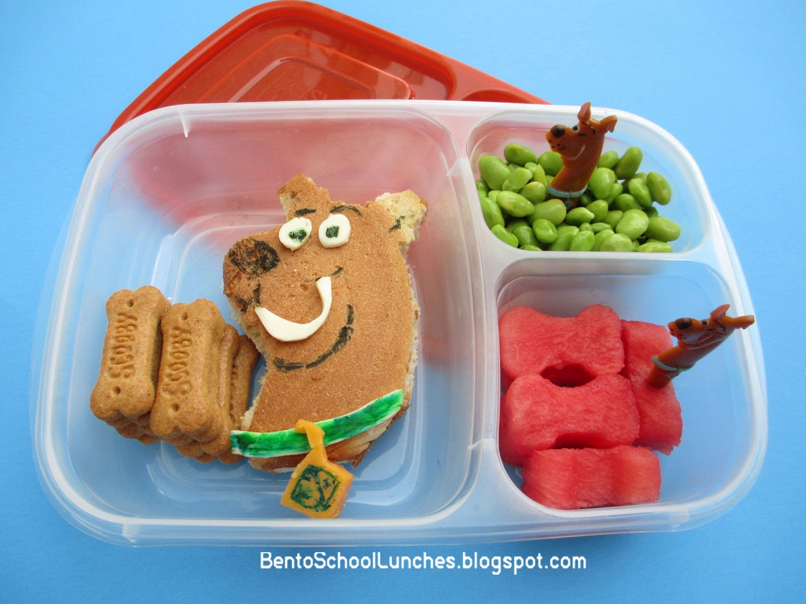 bento school lunches review easy lunchbox and scooby doo bento lunch. Black Bedroom Furniture Sets. Home Design Ideas