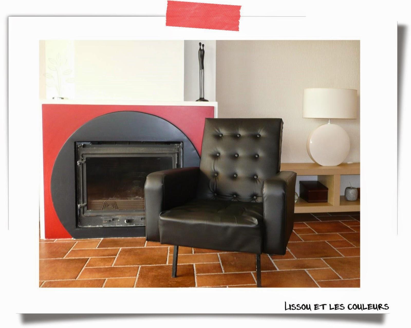 lissou et les couleurs diy r novation d 39 un fauteuil r tro. Black Bedroom Furniture Sets. Home Design Ideas