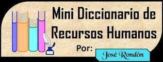 Mini Diccionario de Recursos Humanos