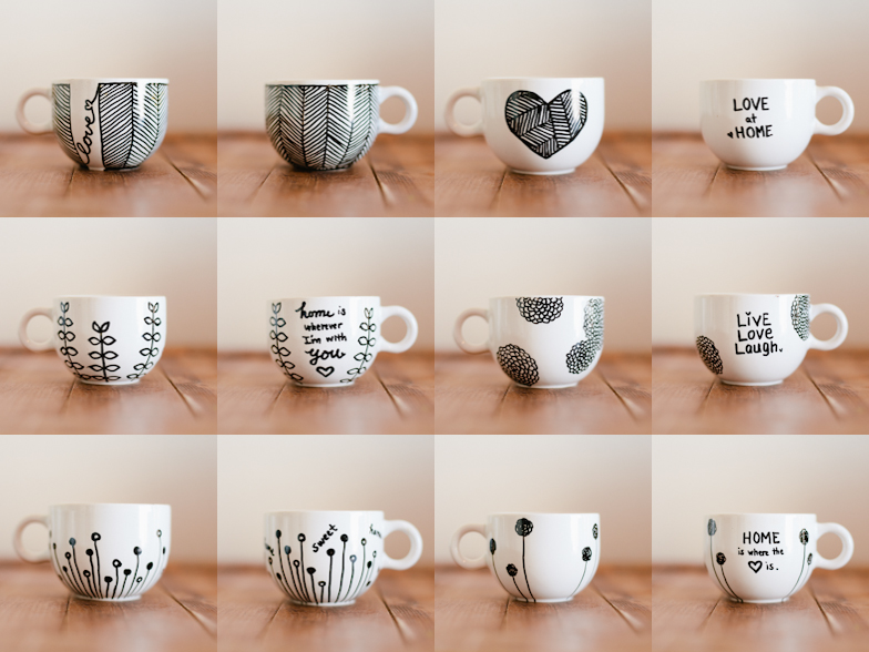 Dont mind if i do diy personalized mugs aka sharpie mugs the final product solutioingenieria Image collections
