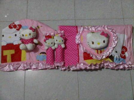 Dapur  on Set Dapur 3 Kain Motif Hkitty Pink