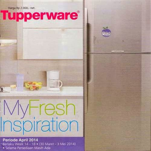 Katalog Promo Tupperware April 2014