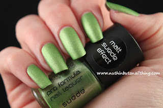 invogue matte suede effect polish
