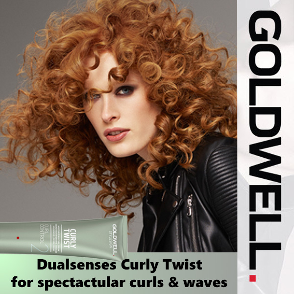 Goldwell's Curly Twist!