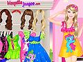 Juegos de ropa colorida