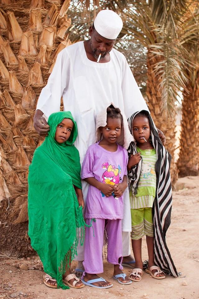 Ahmed Músza és családja
