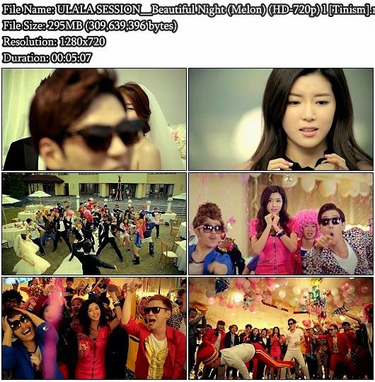 Download MV ULALA SESSION (울랄라세션) - Beautiful Night (아름다운 밤) (Melon 720p)