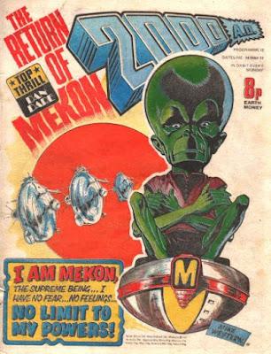 2000AD #12, Mekon