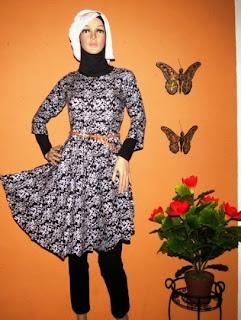 Grosir baju katun muslim BK0392