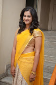 Nanditha raj latest photos in half saree-thumbnail-3