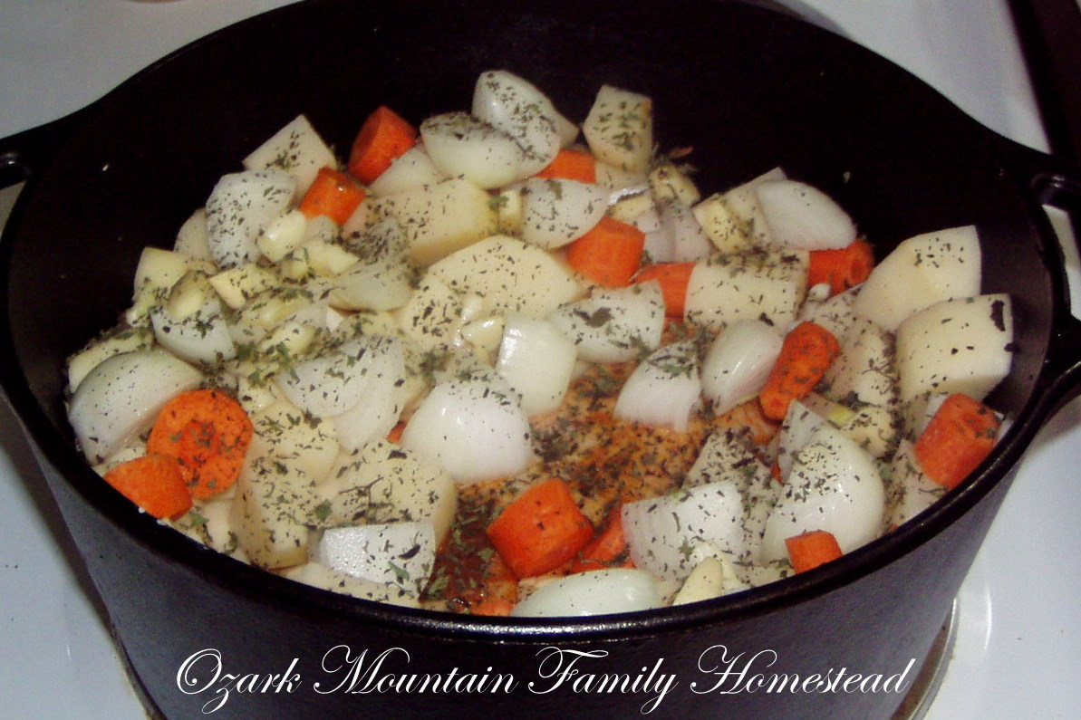 Dutch Oven Pot Roast with Carrots and Potatoes | Feast and ...
