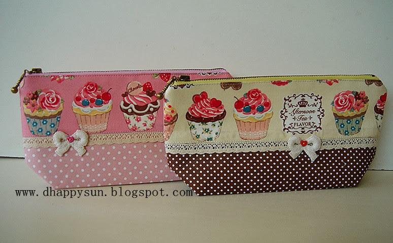 Cupcake Pencil Case