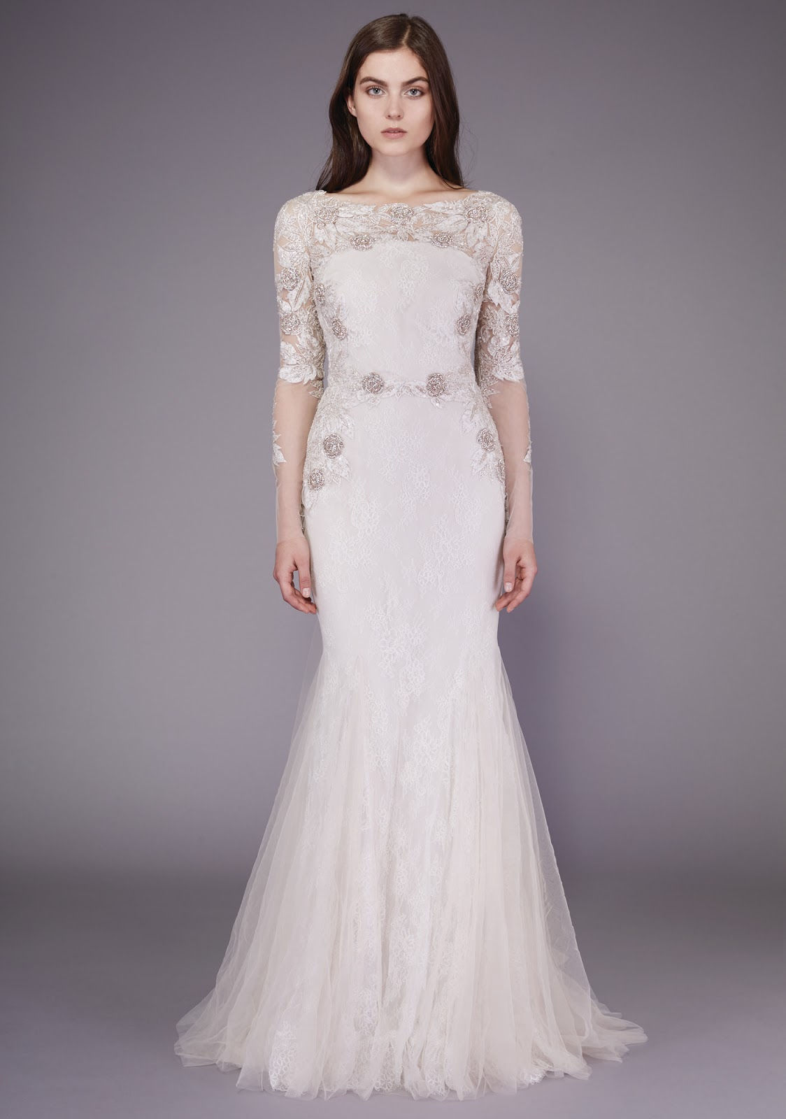 wedding dresses cold climates: Vogue Best Wedding Dresses 2015