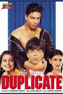 Duplicate 1998 Hindi DVDRip 480p 400mb