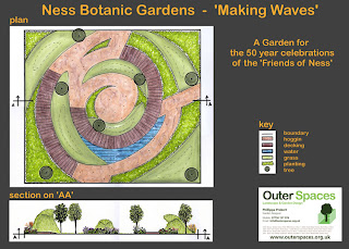 A plan for the 'Making Waves' Garden
