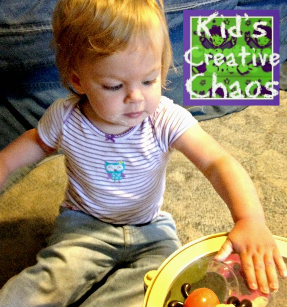 make your own drum, grab some pots and pans, or buy a baby music set to teach your baby to play music