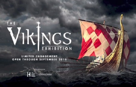 The Vikings Exhibition at Discovery Times Square, NY
