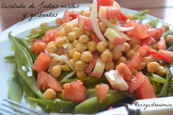 Garbanzos a la vinagreta cocinar en casa es for Cocinar judias verdes de bote