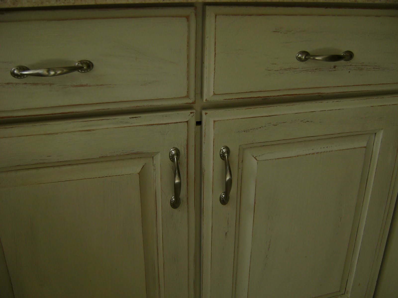 Kitchen Cabinets Look Weathered
