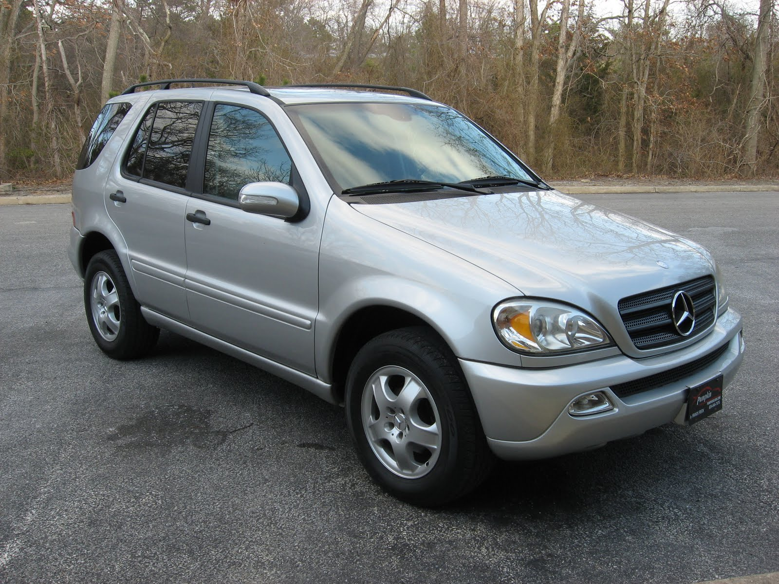 Pumpkin fine cars and exotics 2003 mercedes benz ml320 for 2003 mercedes benz suv