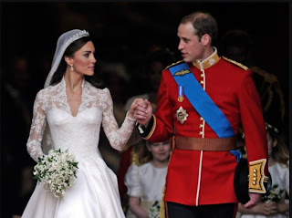 Britain's Prince William and his wife, Catherine,