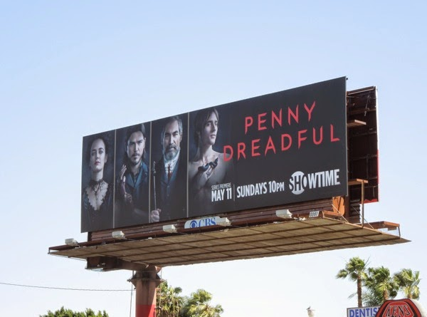 Penny Dreadful season 1 Dorian Gray billboard