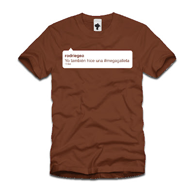 Camiseta Megagalleta.